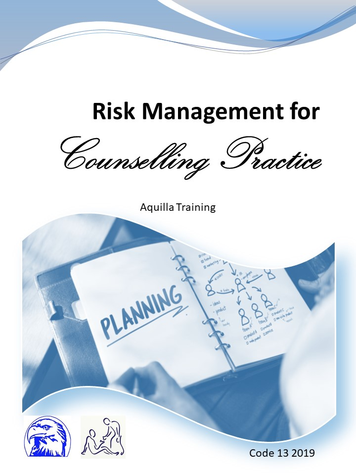 13 2019 Risk Management for Counselling